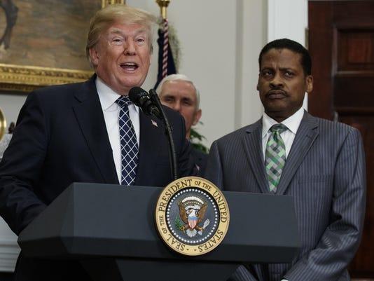 Donald Trump,Mike Pence,Isaac Newton Farris Jr.
