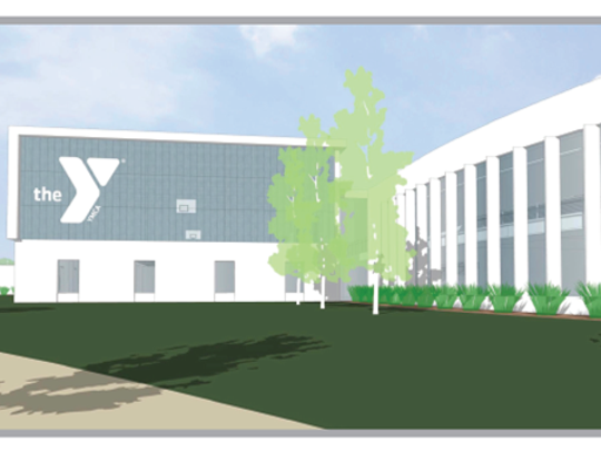 A rendering of renovations to the Oshkosh Community YMCA's downtown facility.