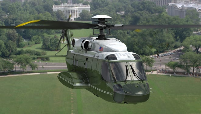 Lockheed Martin Owego plant is producing a new generation of presidential helicopters.