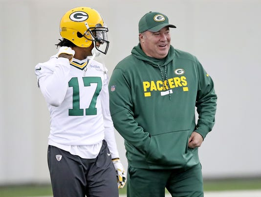 Davante Adams, Mike McCarthy