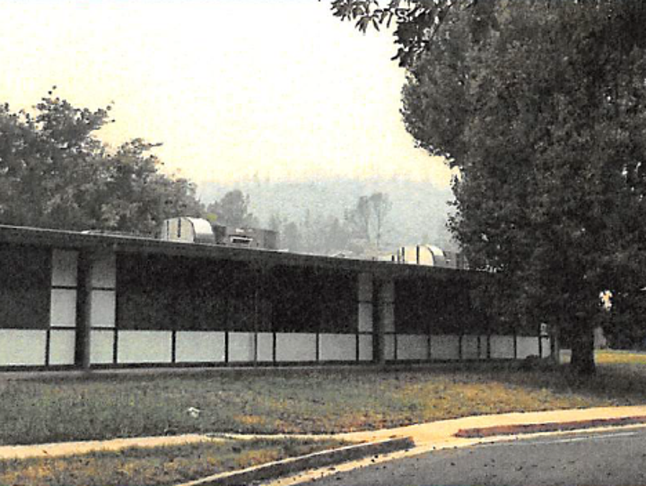 The Shasta Union Elementary School suffered some damage