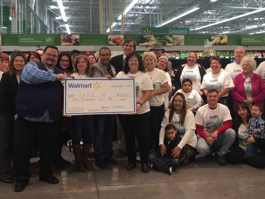 CARE, the Las Cruces-based Cancer Aid Resource and Education, on Friday received a $50,000 grant from the Walmart Foundationto support the group's efforts to help those dealing with cancer.