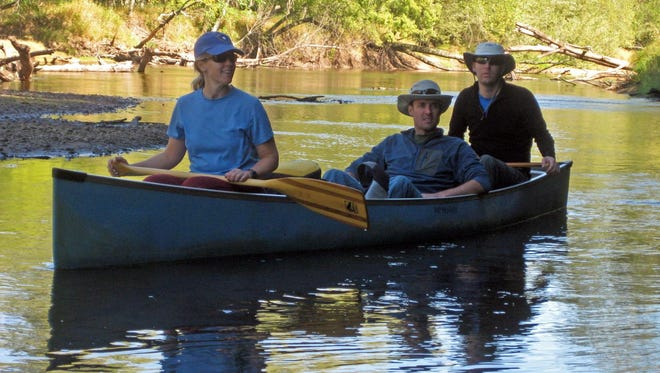 Sandbar camping is allowed in the floodplain of the remote Black River.