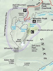 Jeff Davis peak still appears on maps, like this National Park Service map of Great Basin National Park.