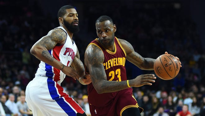 The Pistons actually lead the season series against the Cavaliers, 2-1, entering the final regular-season game (in which the Cavs will rest most of their primary starters). The Cavaliers are 24-5 in first-round games with LeBron James on the roster, including a sweep of the Pistons in 2009 (Detroit's last playoff series).