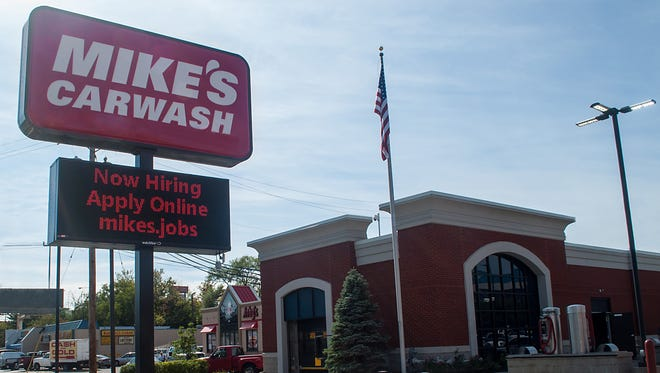 Mike's Carwash recently opened in Green Township.