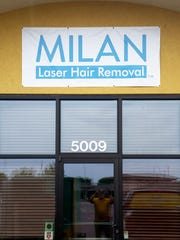 The new Milan Laser Hair Removal store on Louise Avenue