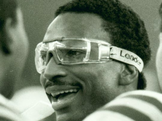 Indianapolis Colts RB Eric Dickerson from an Oct. 30, 1996 game at the RCA Dome.
