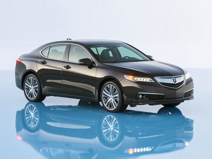 Acura's 2015 TLX will go on sale in August, recplacing the smaller TSX and larger TL.