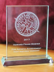 Burlington City Arts awarded the Herb Lockwood Prize on Friday to Vermont author Howard Frank Mosher.