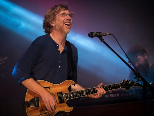 The Trey Anastasio Band headlines during day 2 of the
