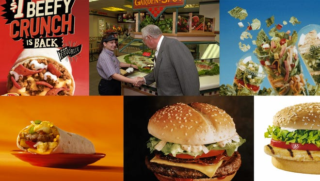 Several discontinued fast food menu items have gained a cult-like following after they disappear from everyday menus.