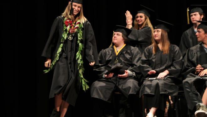 Centennial High School's 2018 graduation was Thursday at the Lincoln Center.