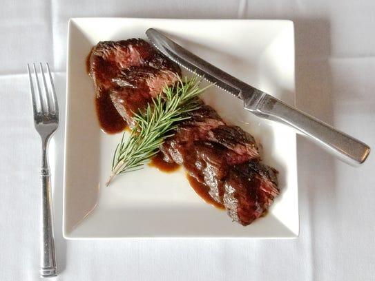 12-ounce Hanger Steak from Max Chophouse.