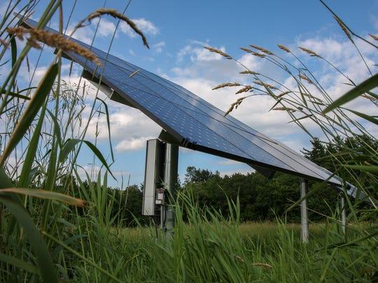 Solar company SunCommon installed solar panels on Sam