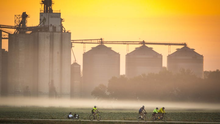 RAGBRAI route: Passing through these small towns makes it wacky