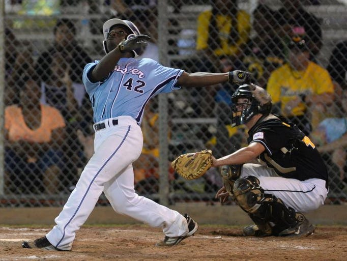 Images from the Dixie Boys World Series game between Bossier vs Mississippi.