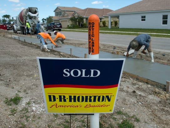 Texas-based D.R. Horton is adding 50 homes to the 130