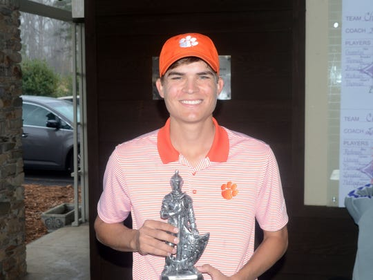 Carson Young's Furman Invitational victory was his first individual tournament win at Clemson.
