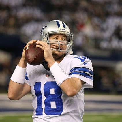 Kyle Orton in action for the Dallas Cowboys.