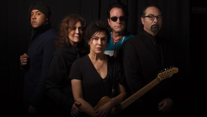 The Revolution (from left, Mark Brown, Lisa Coleman, Wendy Melvoin, Matt Fink and Bobby Z.) will perform May 14 at the Vogue.