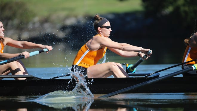 Tennessee junior rower Chandler Frumin revealed she was gay to her team in 2015. She has since become an advocate for LGBT athletes and recently received an NCAA postgraduate scholarship.
