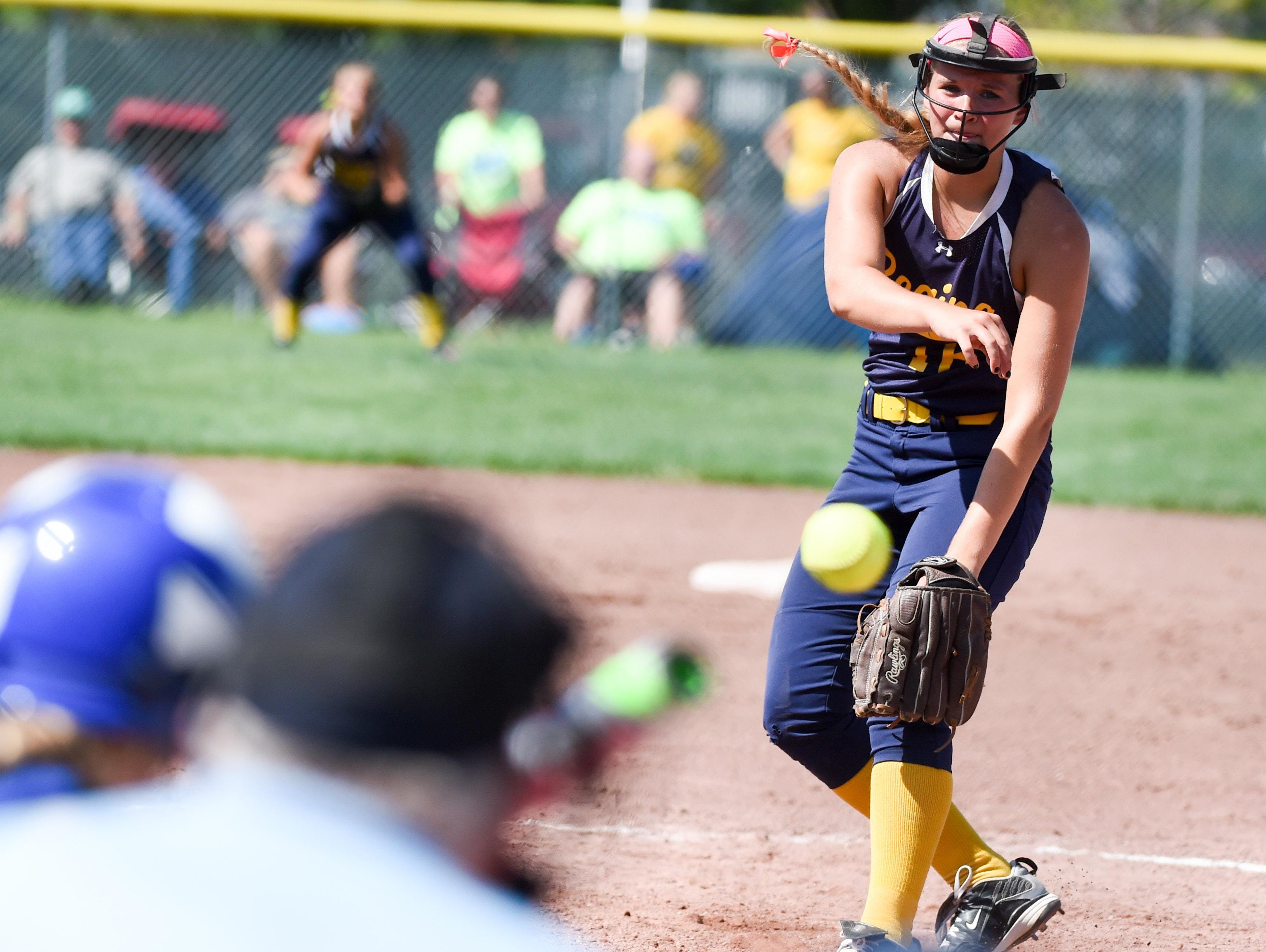 Regina pitcher Sarah Lehman is 4-0 with a 0.66 earned-run average with 43 strikeouts in 32 postseason innings entering Thursday's Class 2A semifinal.