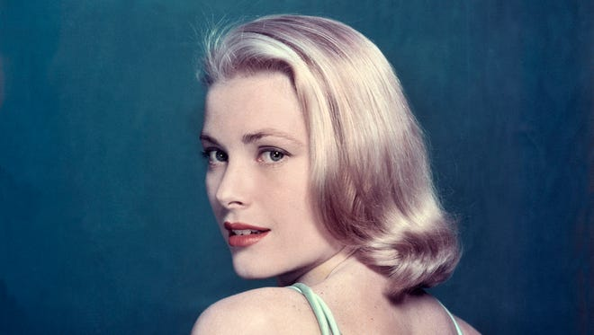 Grace Kelly strikes a pose for Life magazine.