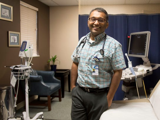 Dr. Geogy Thomas is chief medical officer for Dayspring's