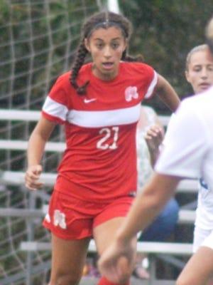 Fair Lawn freshman midfielder Emily Cevallos earned first-team all-division honors.