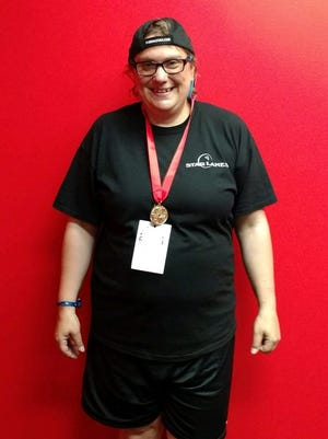 Jeannie Kimmel received a gold medal in bowling.