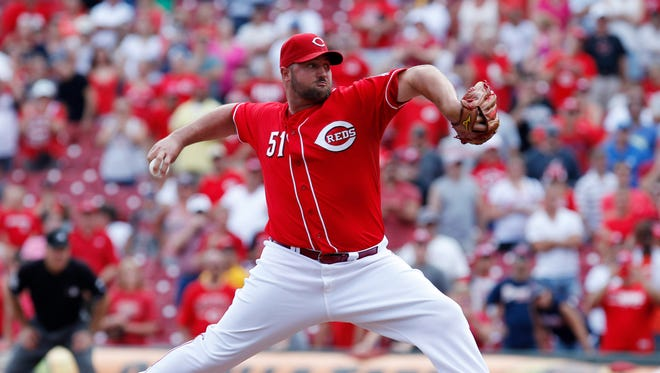 Jonathan Broxton is 4-2 with a 1.86 ERA and seven saves in 51 appearances this season.
