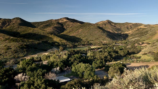 The new trails at Camarillo Grove Park offer great views of the surrounding hillsides and the park itself.