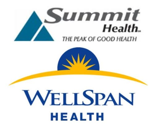 The respective logos of Summit Health and WellSpan