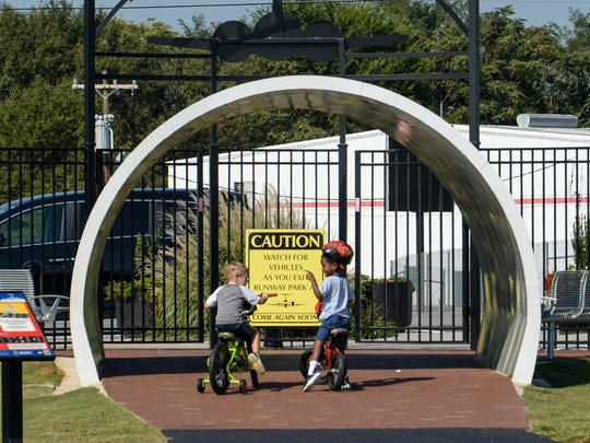 Runway Park is an aviation-themed park located at Greenville