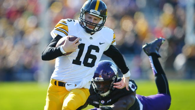 C.J. Beathard's health has improved considerably since he played hurt Oct. 17 against Northwestern.