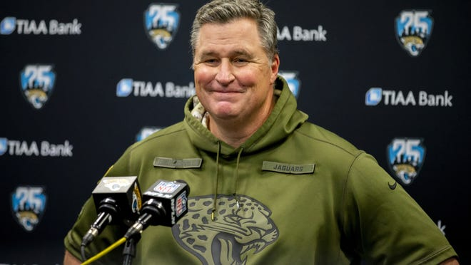 Jacksonville Jaguars head coach Doug Marrone held weekly contests for his team to build unity during the coronavirus pandemic.