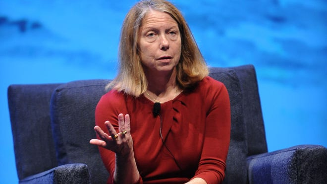 Former New York Times editor Jill Abramson is shown in this May 7, 2013, file photo.