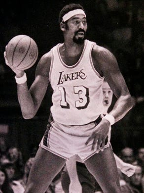 Wilt Chamberlain (Los Angeles Lakers) - Chamberlain