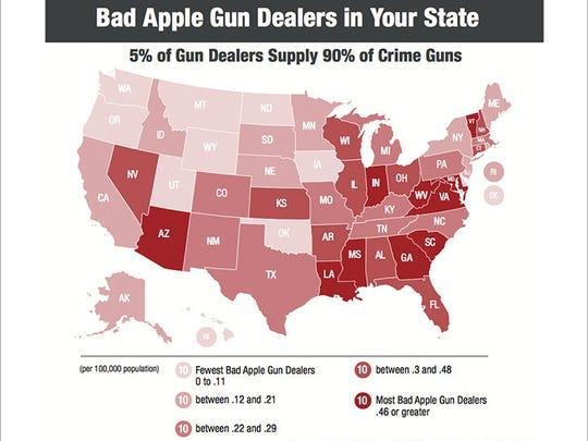 "Arizona had one of the highest rates of ""bad apple"""