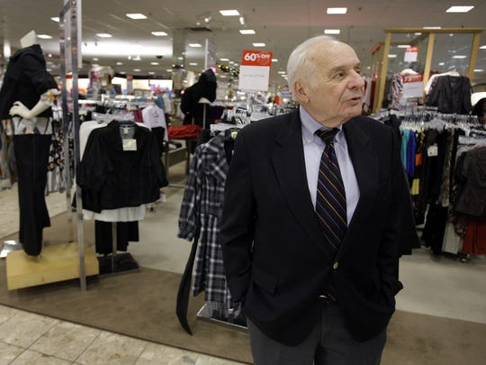 Al Boscov is interviewed at his Boscov's department store in Reading, Pa., in 2008. The department store mogul spent more than 50 years at the Reading-based chain that bears his name. He returned as chairman and chief executive officer in 2008 to guide the troubled company out of bankruptcy and to regain the trust of shoppers and suppliers.