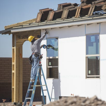 Home building in the Valley has steadily been climbing