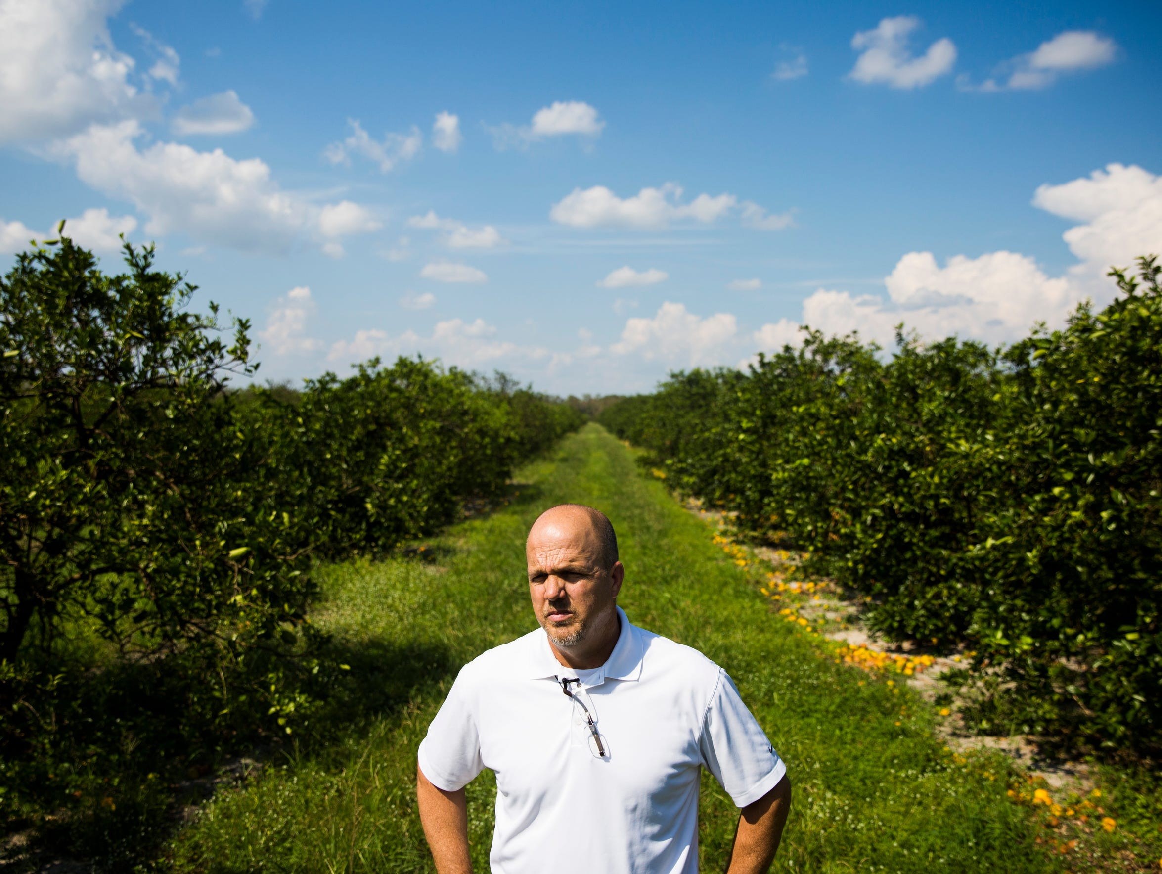 Paul Meador, a fourth-generation Floridian who owns