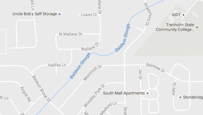 Two were reportedly shot on South Wallace Drive Tuesday night. Suspects were last seen heading toward Baldwin Brook Drive.