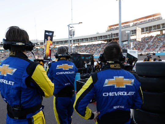 The bond between Chevy and Ilmor is so strong that