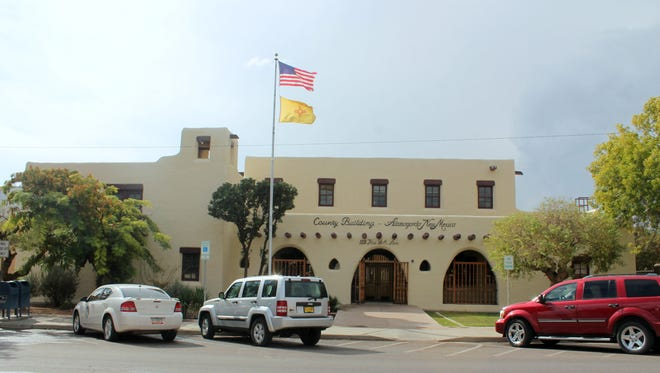 In this file photo, the Otero County Administration Building, 1101 N New York Ave.
