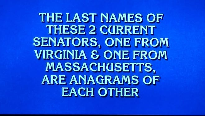 The Final Jeopardy question from Jan. 10, 2017