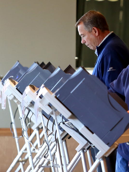 John Boehner Election Day