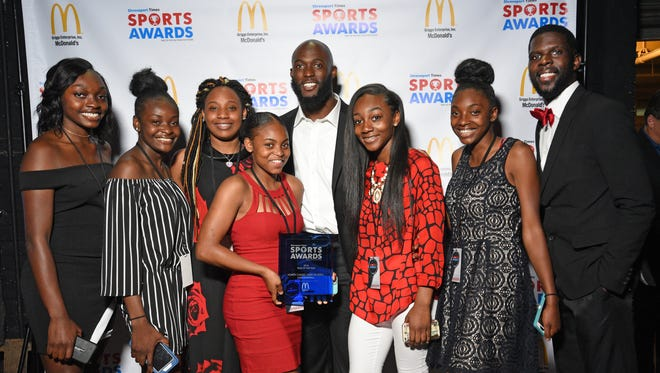 The Shreveport Times Sports Awards held Thursday at the Municipal Auditorium.