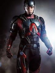 "Norwalk native Brandon Routh portrays the Atom on ""Legends"